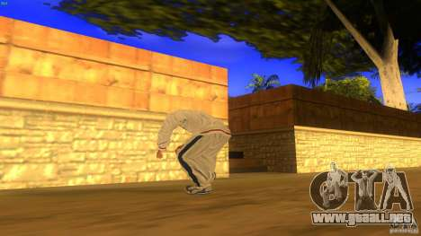 BrakeDance mod para GTA San Andreas séptima pantalla