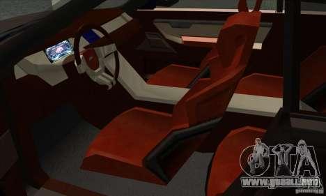 Land Rover LRX para GTA San Andreas vista hacia atrás