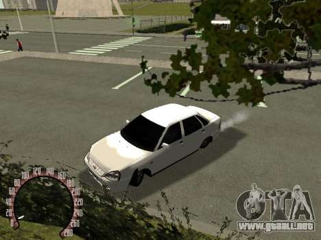 VAZ Lada Priora 2170 para GTA San Andreas left