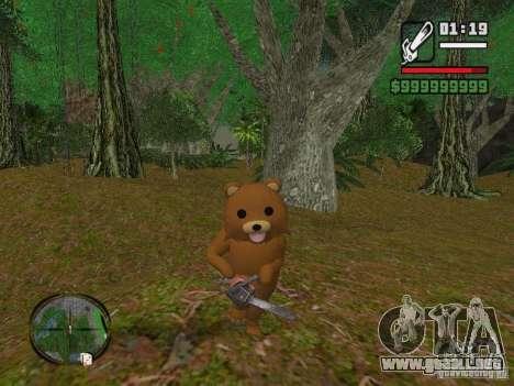 Crazy Bear para GTA San Andreas segunda pantalla