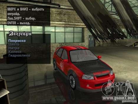 Lada Kalina Sport Tuning para GTA San Andreas