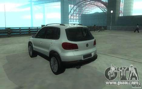 Volkswagen Tiguan 2012 para GTA San Andreas left