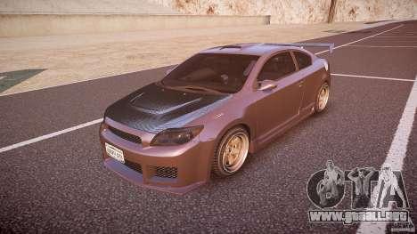Toyota Scion TC 2.4 Tuning Edition para GTA 4