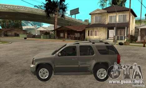 GMC Yukon 2008 para GTA San Andreas left
