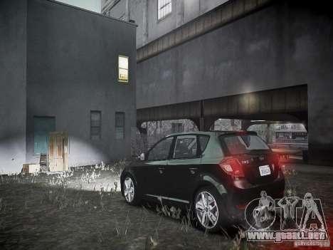 Kia Ceed para GTA 4 Vista posterior izquierda