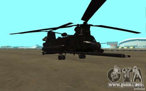 MH-47G Chinook para GTA San Andreas left