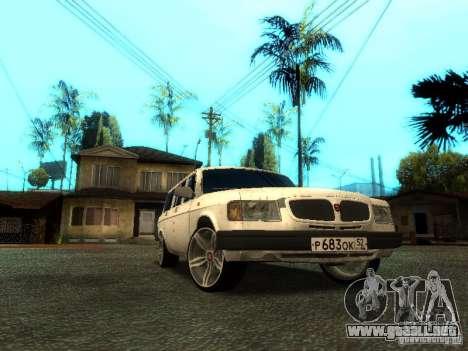 Versión GAZ VOLGA 310221 TUNING para GTA San Andreas