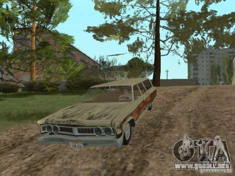 Chrysler Town and Country 1967 para visión interna GTA San Andreas