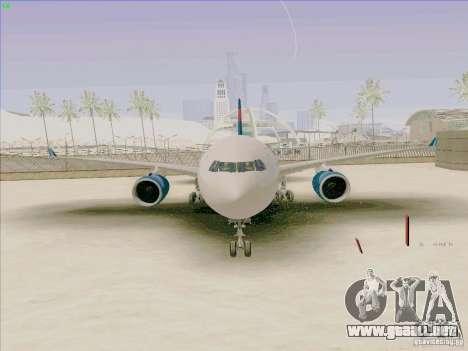 Airbus A330-200 para la visión correcta GTA San Andreas