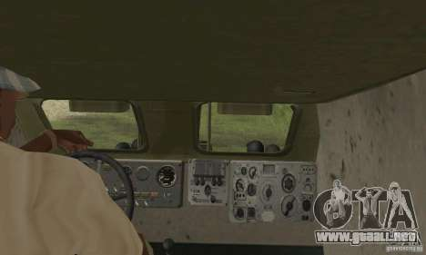 BRDM-1 piel 4 para visión interna GTA San Andreas