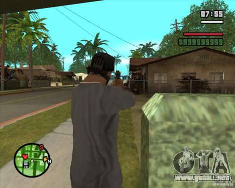 Sistema de refugios (sistema de cubiertas) v1 para GTA San Andreas tercera pantalla