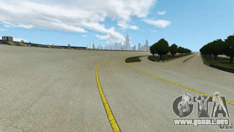 Dakota Raceway [HD] Retexture para GTA 4 quinta pantalla