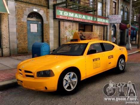Dodge Charger NYC Taxi V.1.8 para GTA 4 visión correcta