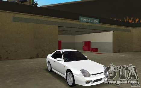 Honda Prelude 2.2i para GTA Vice City visión correcta
