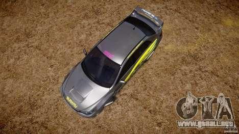 Subaru Impreza WRX STi 2011 Subaru World Rally para GTA 4 interior