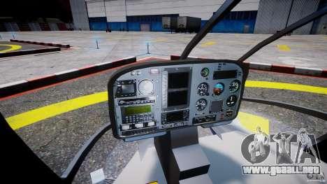 Eurocopter EC130 B4 Red Bull para GTA 4 visión correcta