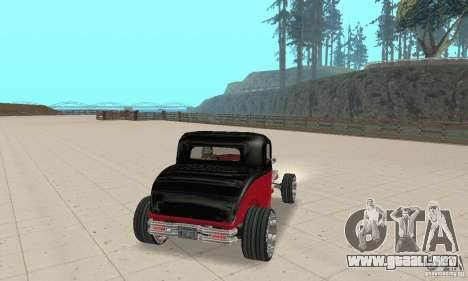 Ford Hot Rod 1932 para GTA San Andreas left
