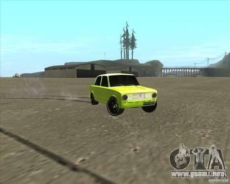 VAZ 2101 versión tuning de coches para la visión correcta GTA San Andreas