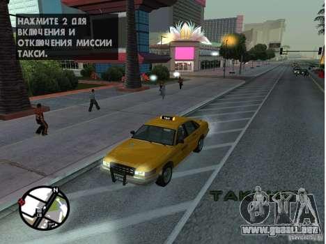 Un taxi de Gta IV para GTA San Andreas