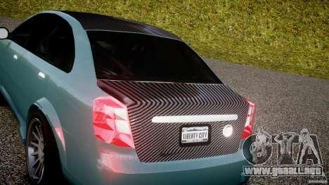 Chevrolet Lacetti WTCC Street Tun [Beta] para GTA 4 vista hacia atrás