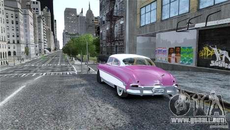 Hudson Hornet Coupe 1952 para GTA 4 left