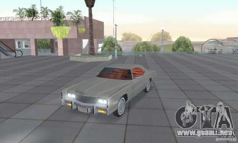 Cadillac Eldorado Convertible 1976 para GTA San Andreas left