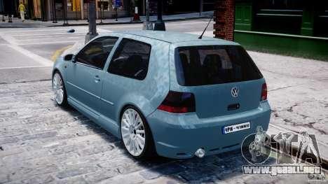 Volkswagen Golf IV R32 para GTA 4 visión correcta