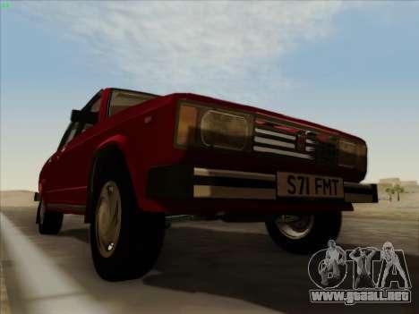 Lada 2105 RIVA (exportación) 2.0 para la vista superior GTA San Andreas