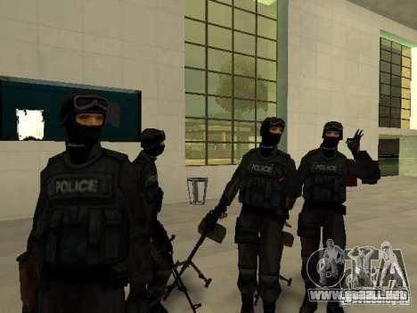 Ayuda Swat para GTA San Andreas quinta pantalla