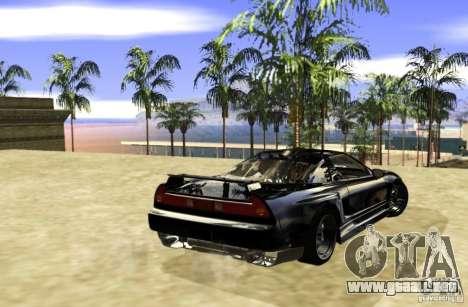 Acura NSX Tuned para la visión correcta GTA San Andreas