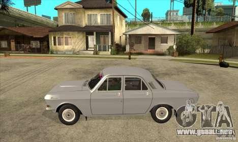 Volga GAZ 24 para GTA San Andreas left