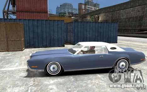Lincoln Continental Mark IV 1972 para GTA 4 left