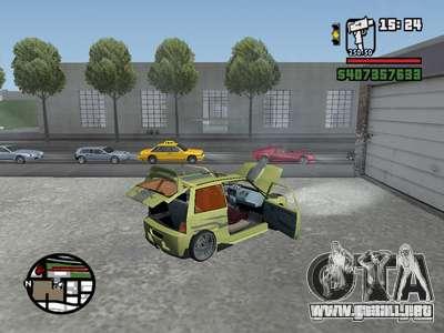 1111 OKA (tuning) para la visión correcta GTA San Andreas