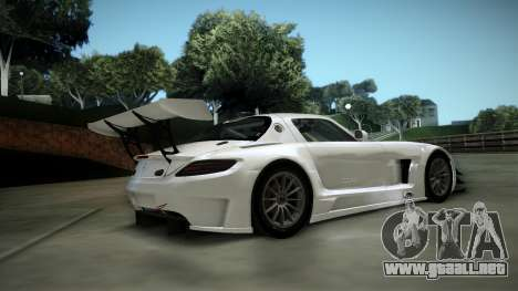 Mercedes-Benz SLS AMG GT3 para GTA San Andreas vista hacia atrás