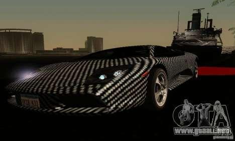 Lamborghini Murcielago para la vista superior GTA San Andreas