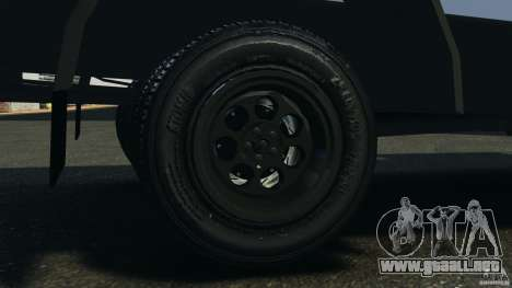 Chevrolet Yankee v1.0 [Beta] para GTA 4 vista interior