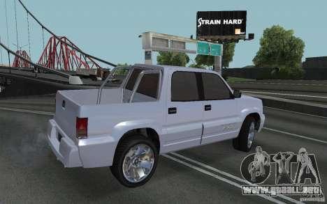 Cavalcade FXT de GTA 4 para GTA San Andreas left