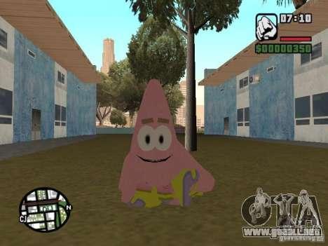 Patrick para GTA San Andreas sexta pantalla