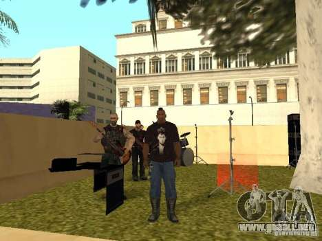 La franja de Gaza para GTA San Andreas séptima pantalla