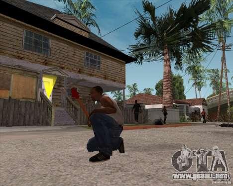 Martillo de Assassins Creed Hermandad para GTA San Andreas tercera pantalla