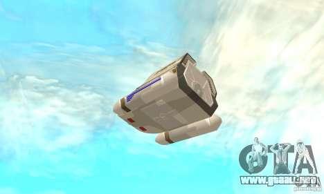 Shuttle-NCC-74656 para visión interna GTA San Andreas