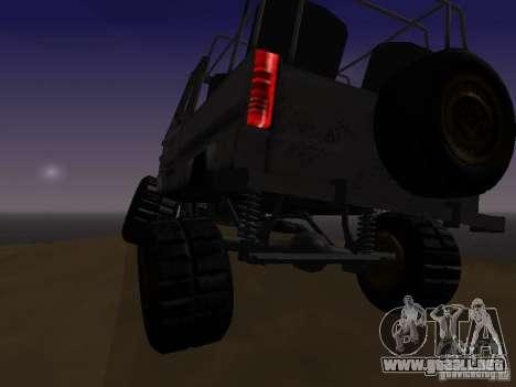 LuAZ 969 Offroad para visión interna GTA San Andreas