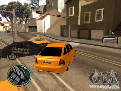 Lada Priora DagStailing para la visión correcta GTA San Andreas