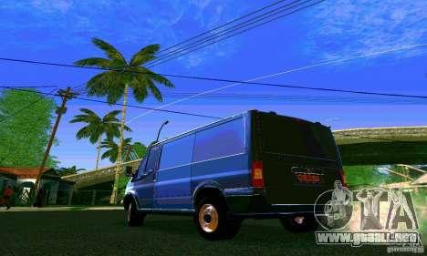 Ford Transit SWB 2011 para GTA San Andreas left