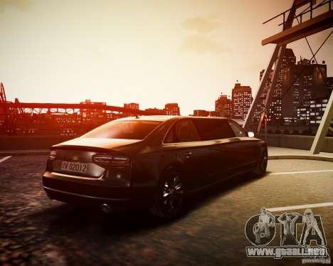 Audi A8 Limo para GTA 4 left