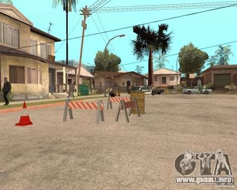 Remapping Ghetto v.1.0 para GTA San Andreas segunda pantalla