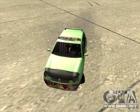 Volkswagen Lupo Hellaflush para GTA San Andreas left