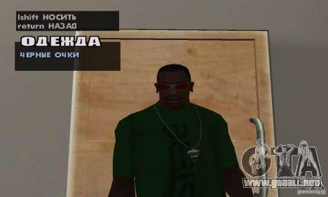 Gafas para GTA San Andreas