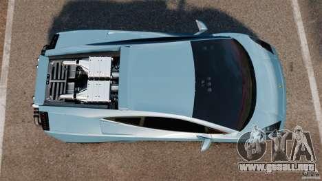 Lamborghini Gallardo Twin Turbo Kit para GTA 4 visión correcta
