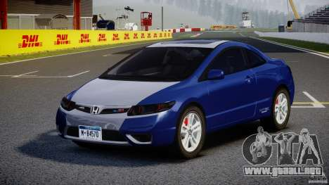 Honda Civic Si Coupe 2006 v1.0 para GTA 4